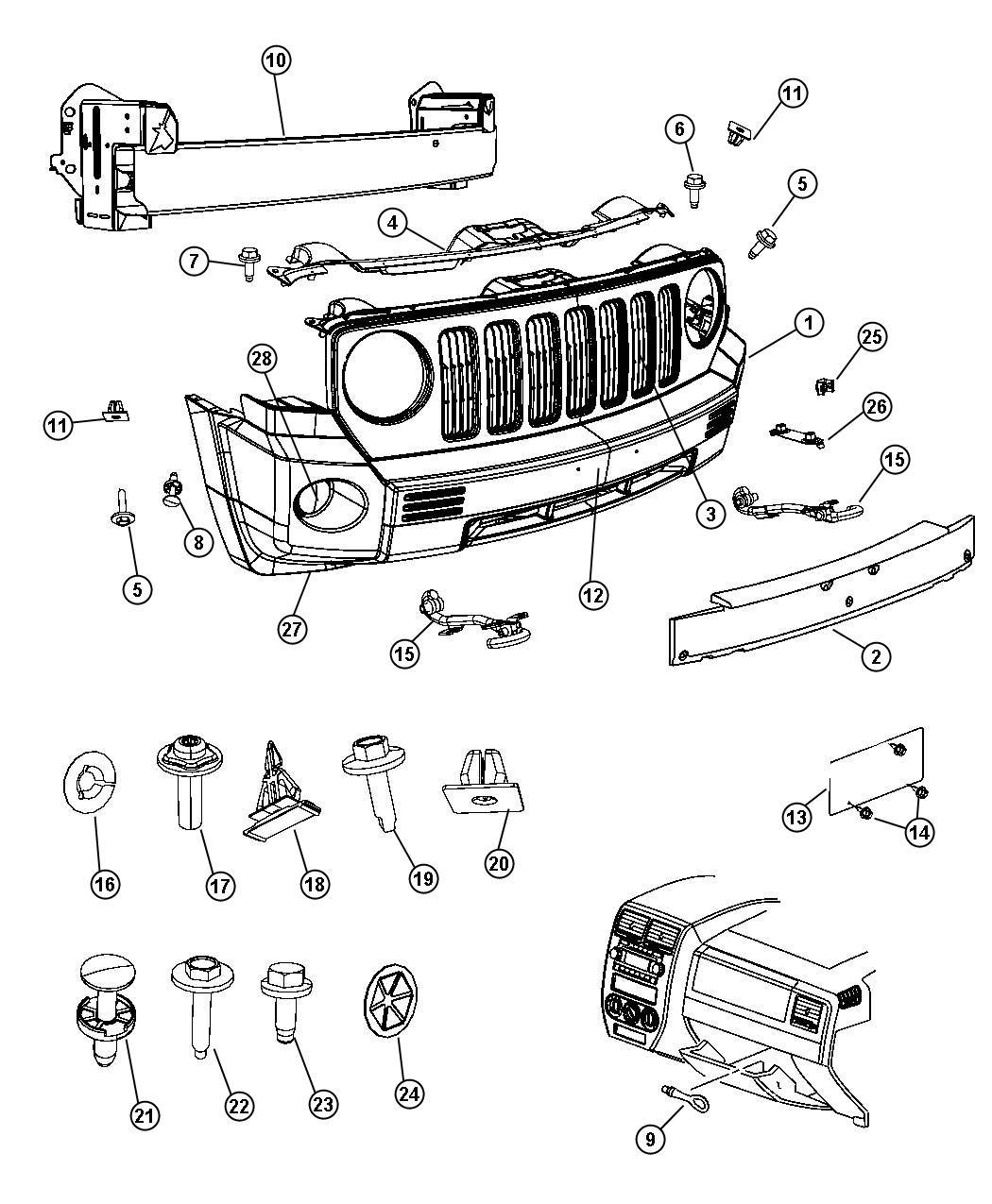 Jeep Patriot Rivet, rivet nut, rivnut. Installation