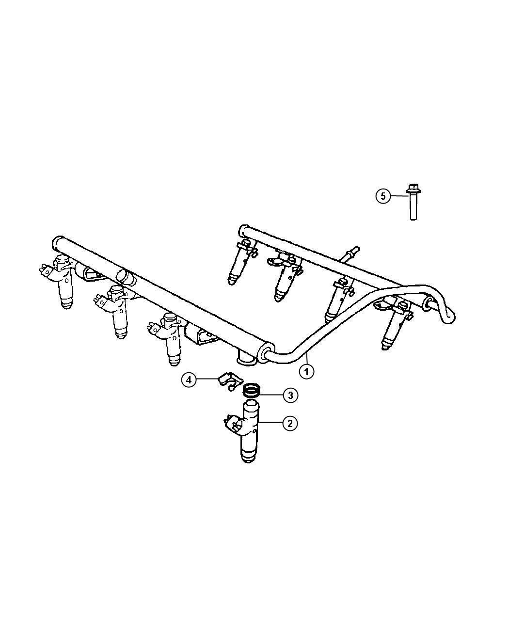 Dodge Ram Injector Fuel Remanufactured