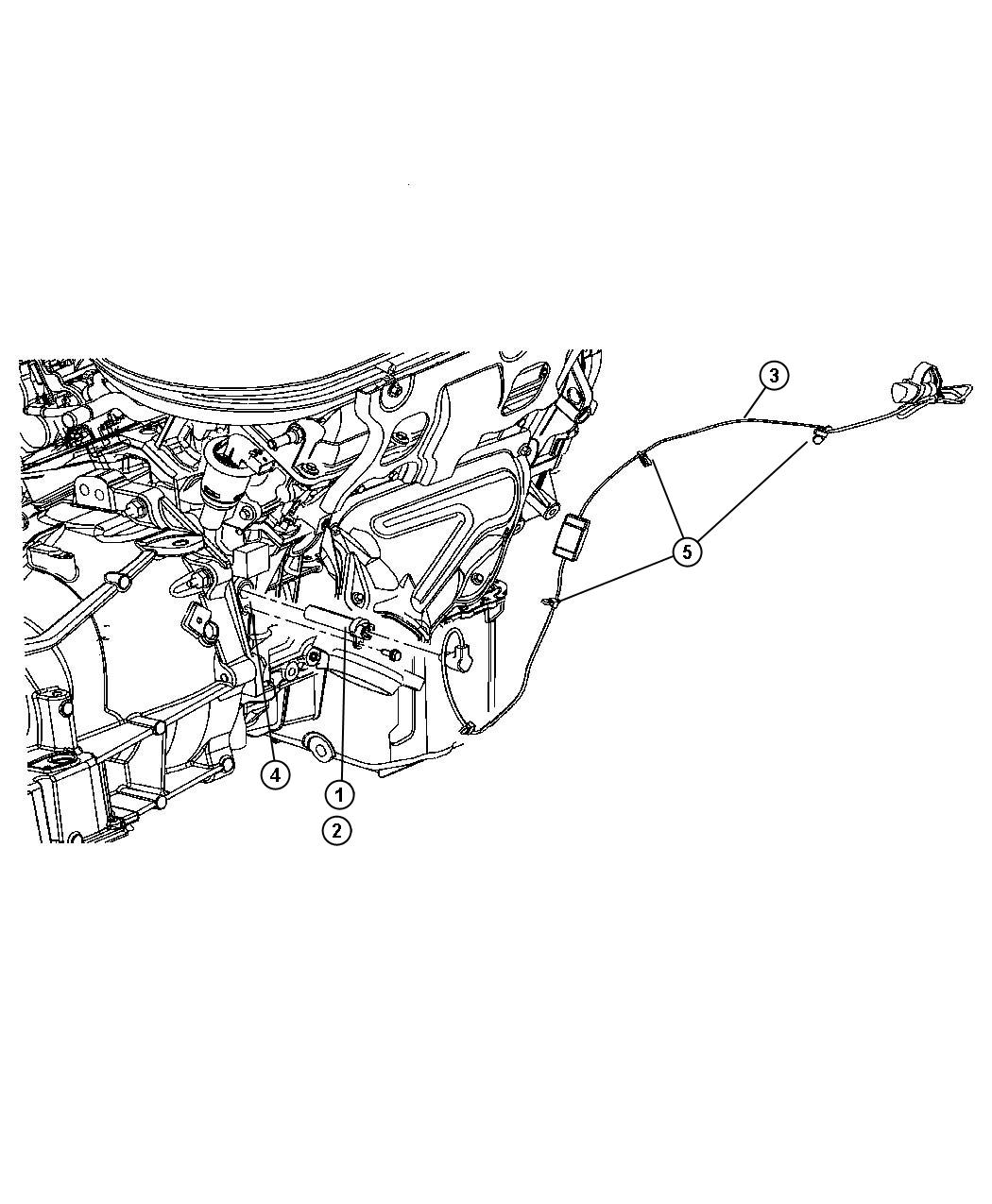 Dodge Grand Caravan Cord. Engine block heater. After 07/09