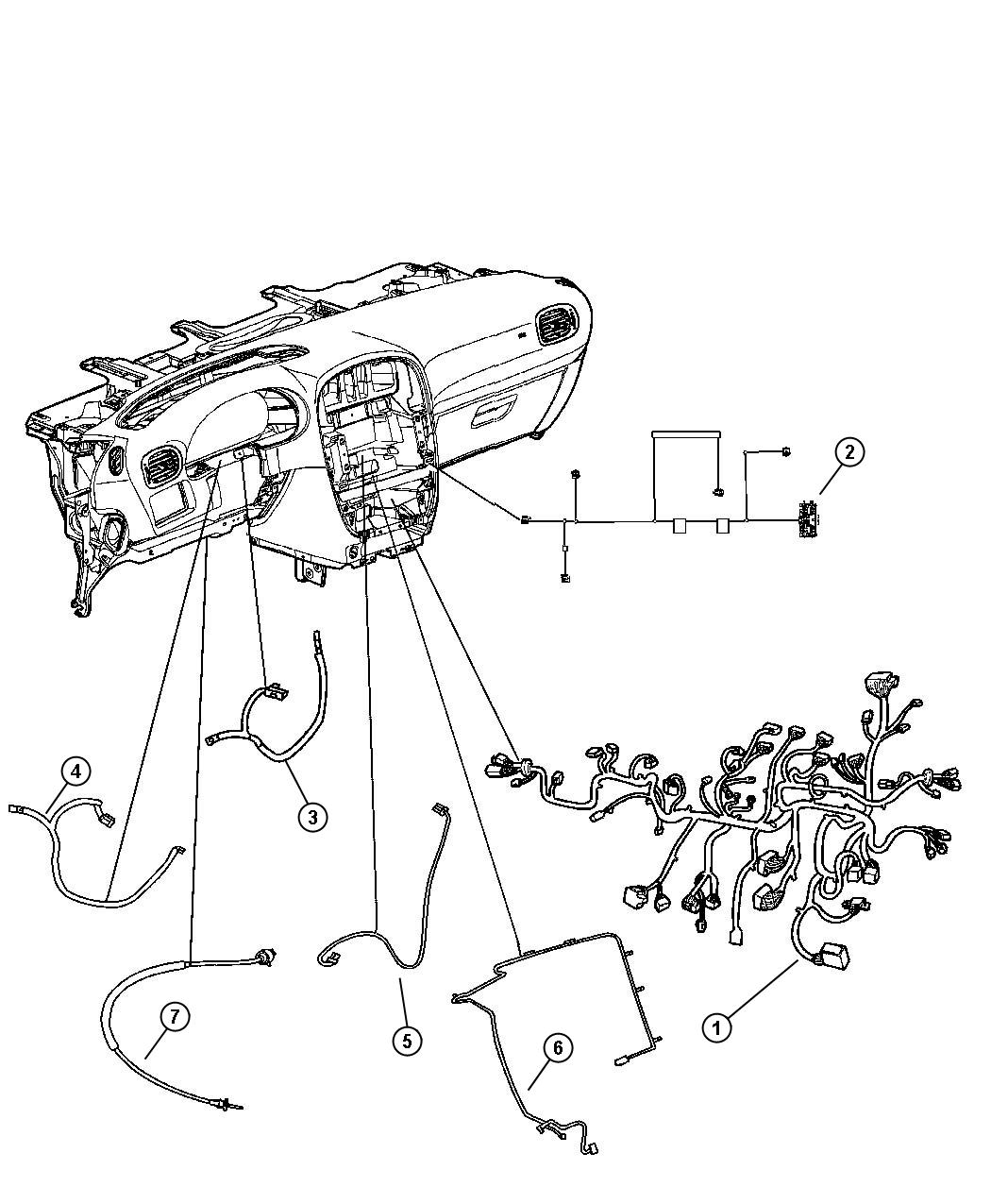 Dodge Caravan Wiring Instrument Panel