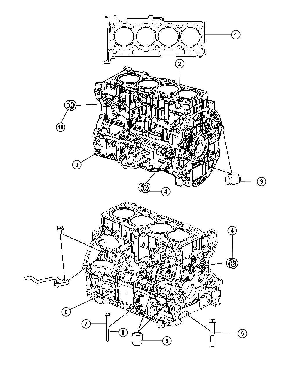 Chrysler 200 Gasket Kit Gasket Package Engine Engine