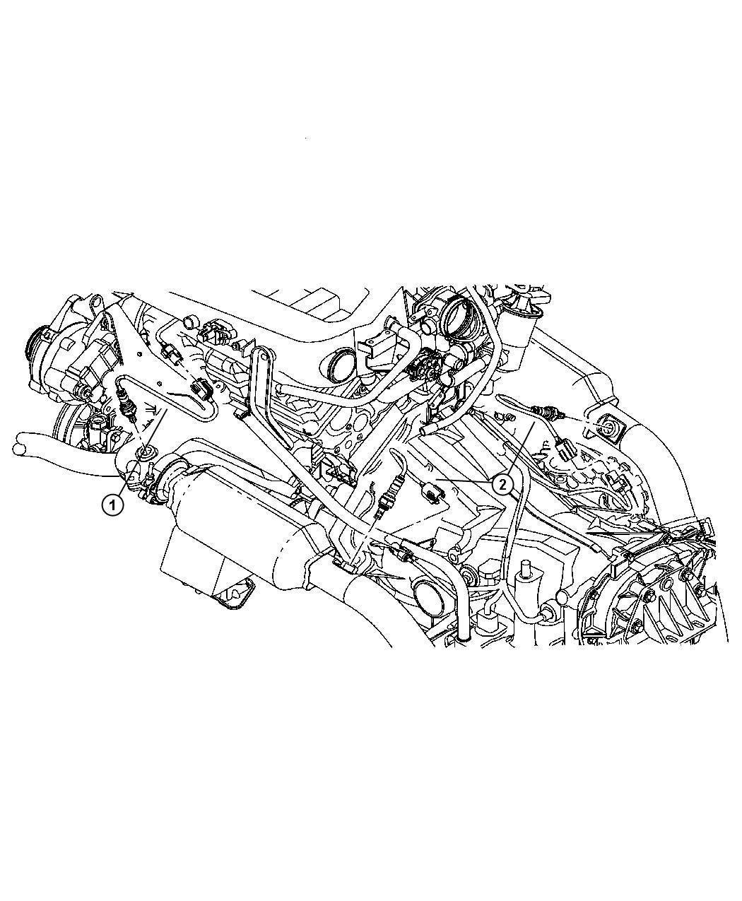 Jeep Sensor Oxygen After Catalyst Before Catalyst