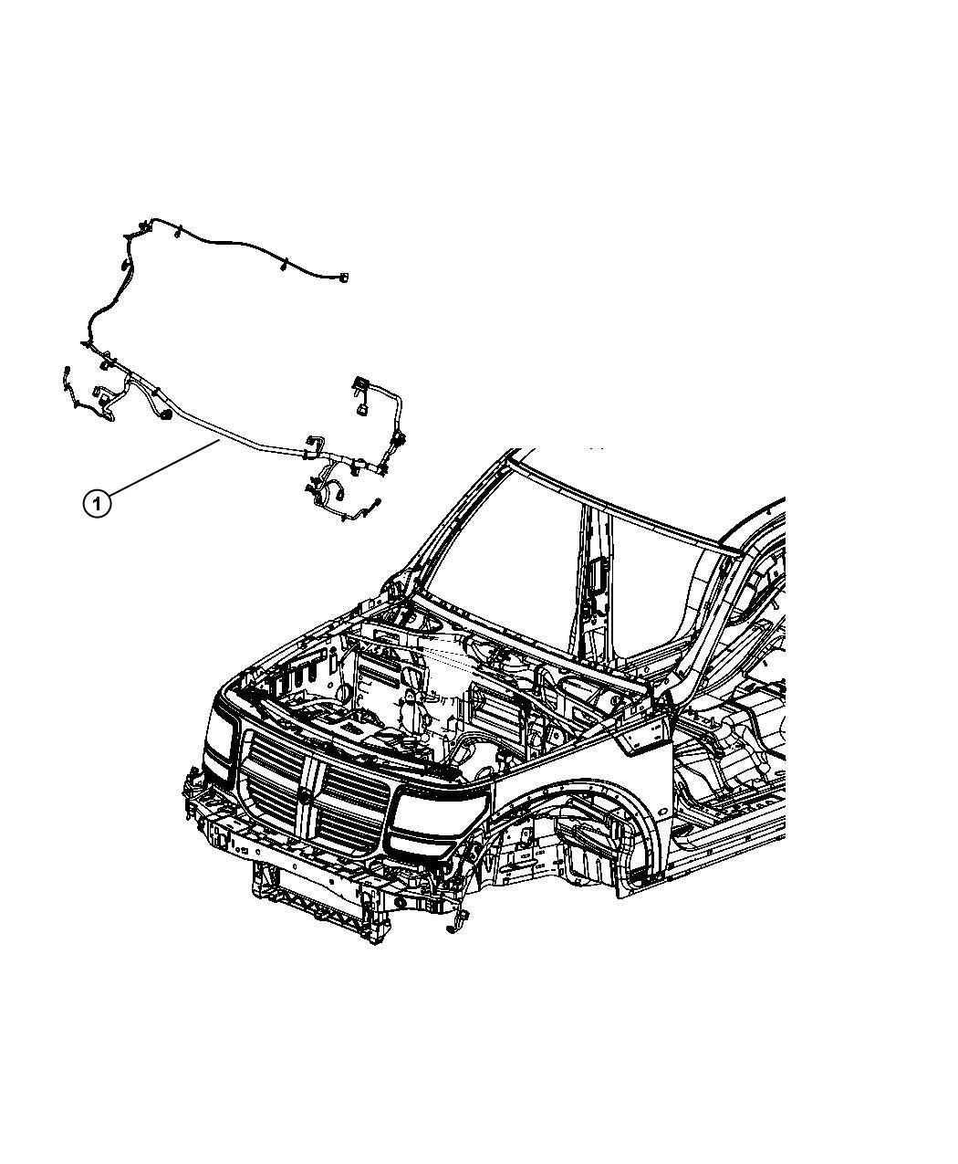 Dodge Nitro Wiring. Front end lighting. [[-fog lamps