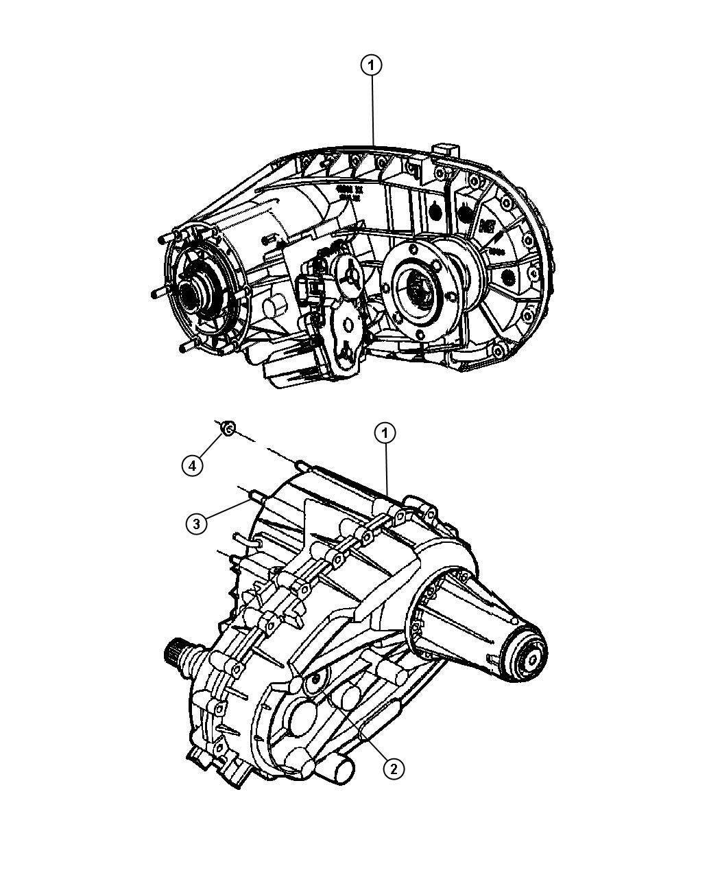 Dodge Ram 3500 Transfer case. Nvg273. Manual transmission