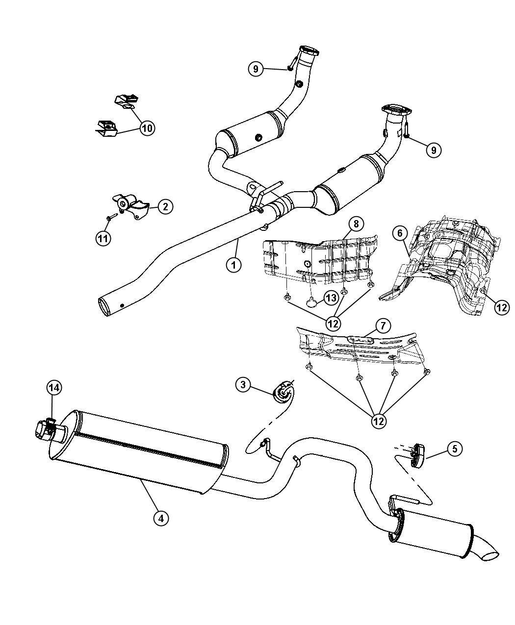 Dodge Nut Hex Flange Lock M10x1 5 M10x1 50 M14x1