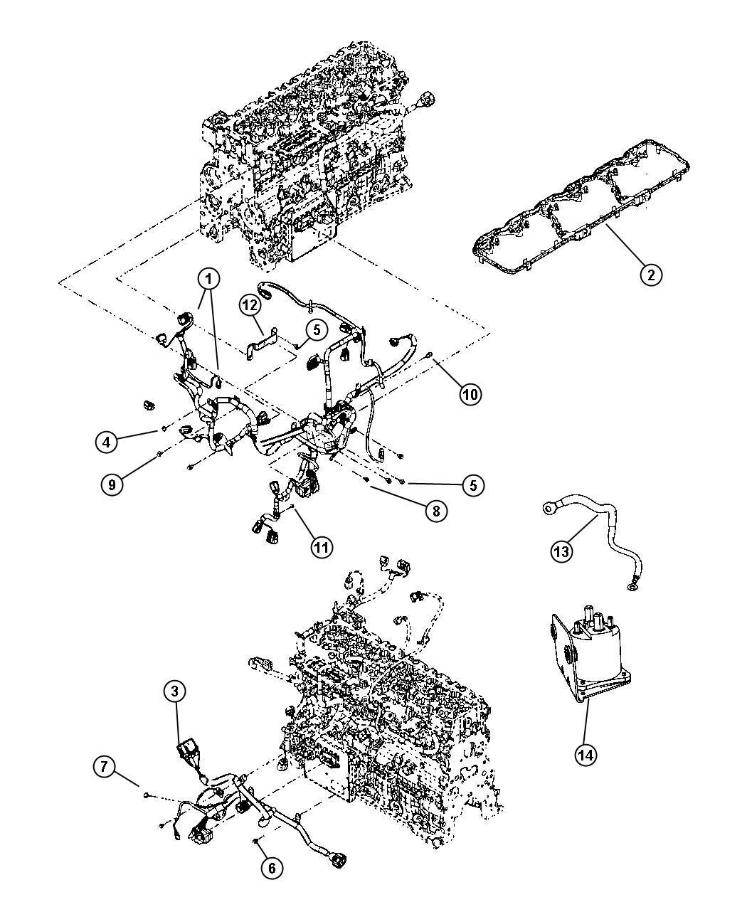 Dodge Ram 2500 Relay. G8v-rh-1a7t-r-dcx12, intake heater