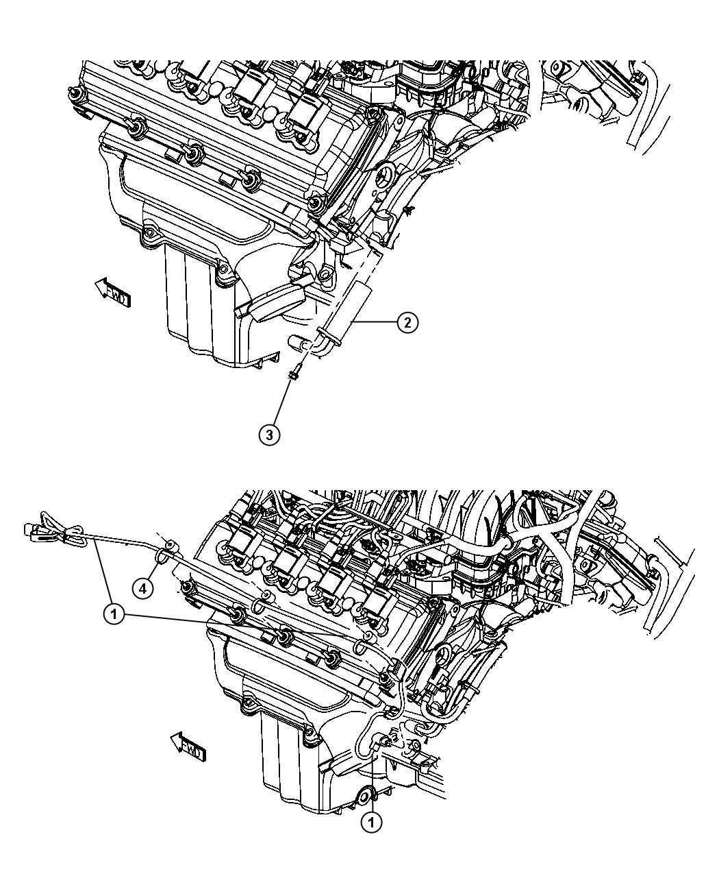 Dodge Magnum Engine Cylinder Block Heater 5.7L [5.7L Hemi