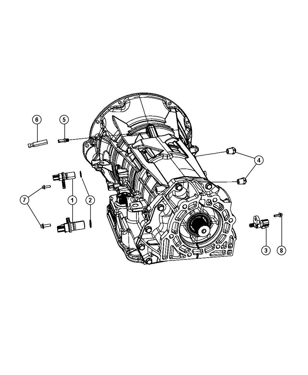 Jeep Transducer Pressure Sensor
