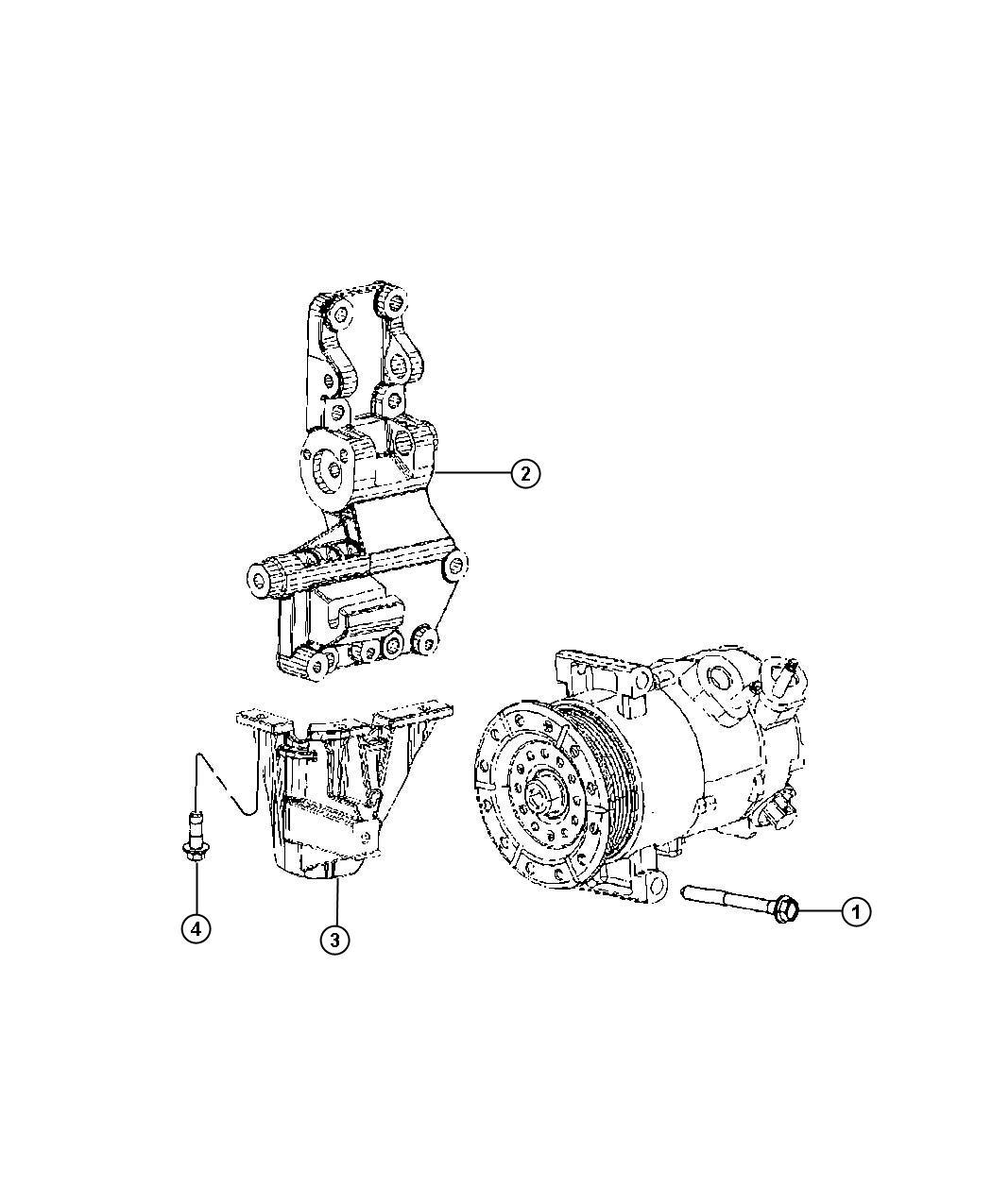 Chrysler Sebring Bolt Screw Hex Flange Head M8x1 25x25