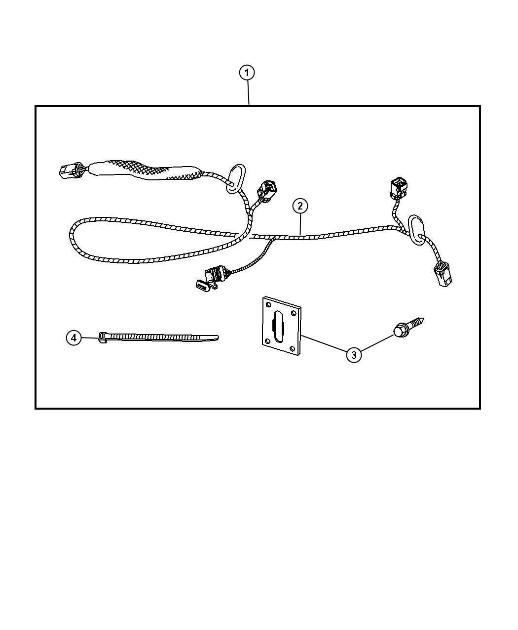 Chrysler Aspen Wiring Kit Trailer Tow