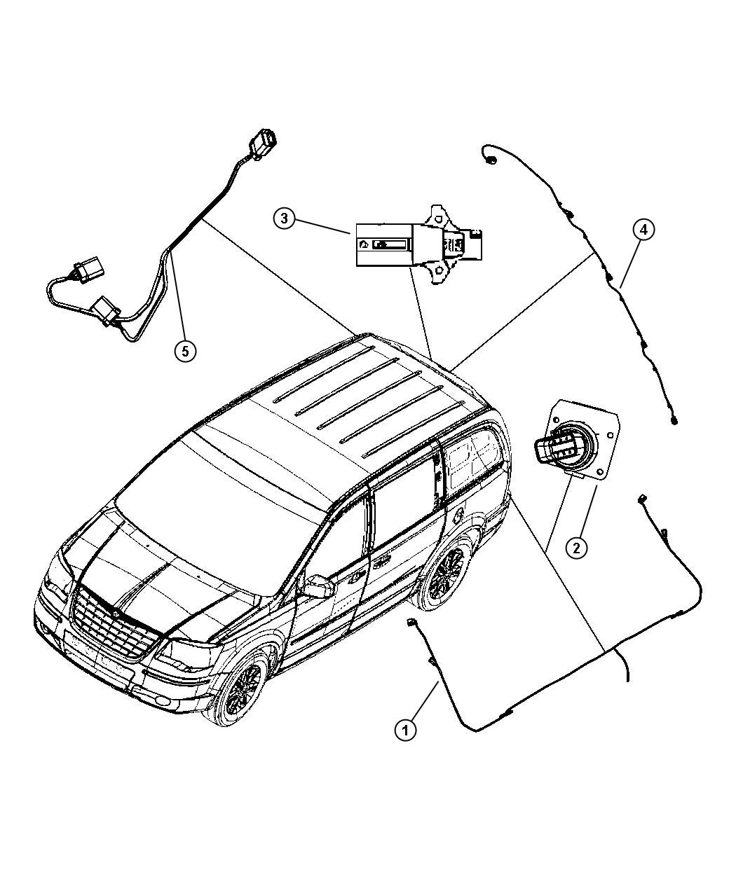 Dodge Grand Caravan Wiring. Trailer tow package