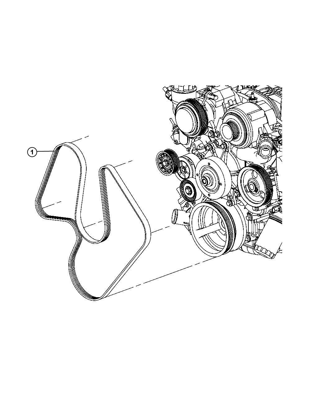 Dodge Ram Belt Serpentine Air Conditioning