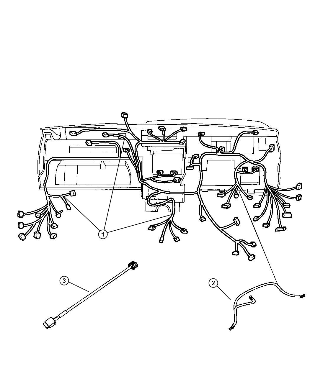 Jeep Commander Wiring Instrument Panel