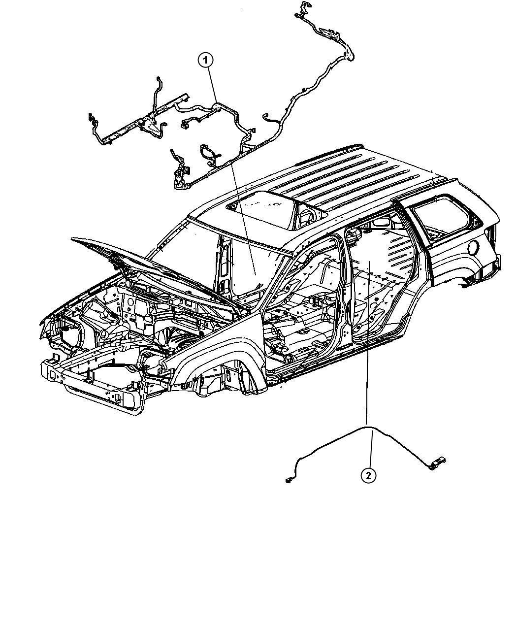 Jeep Grand Cherokee Wiring Body