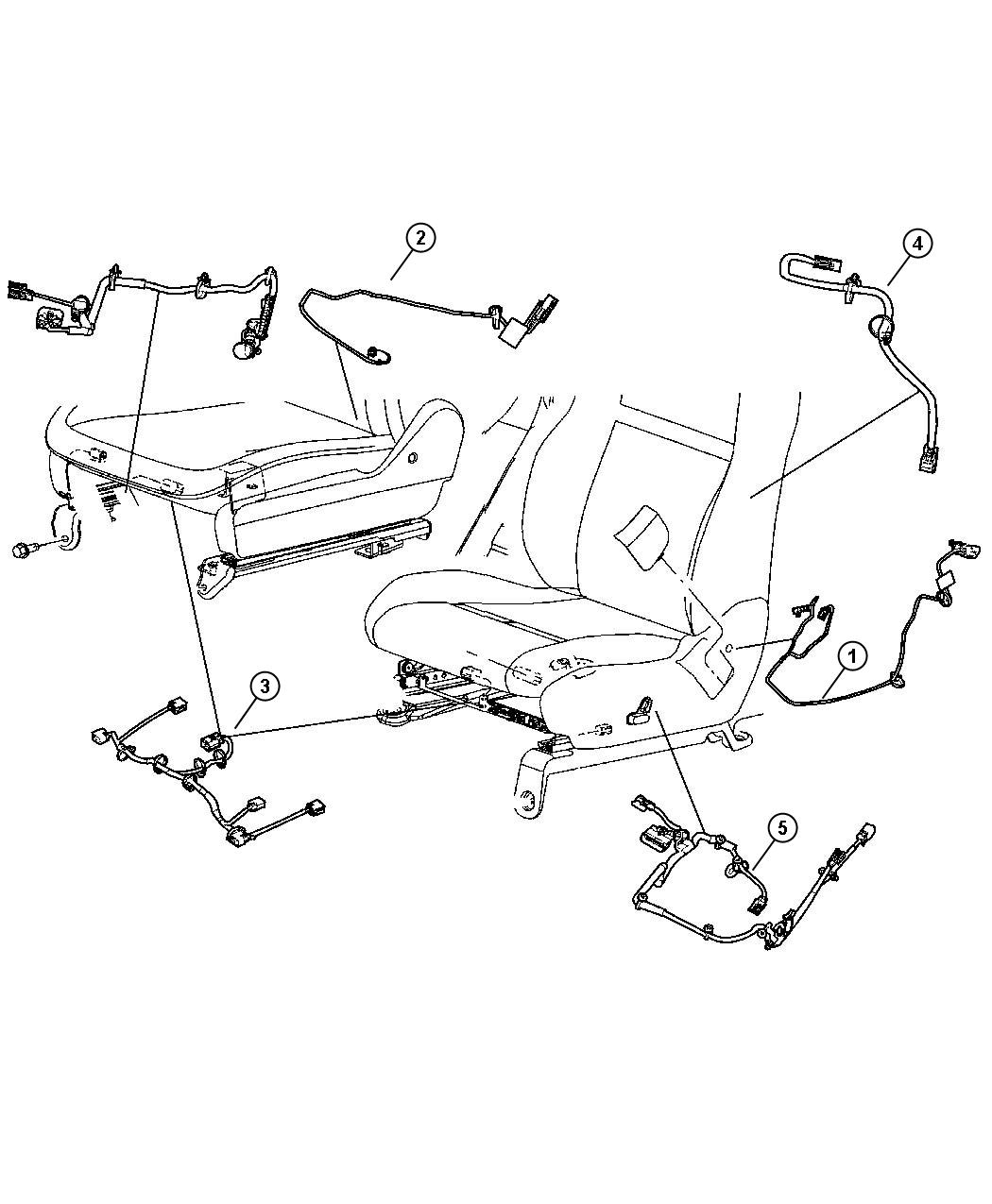 Jeep Grand Cherokee Wiring. Seat. Manual, tagged 1478991