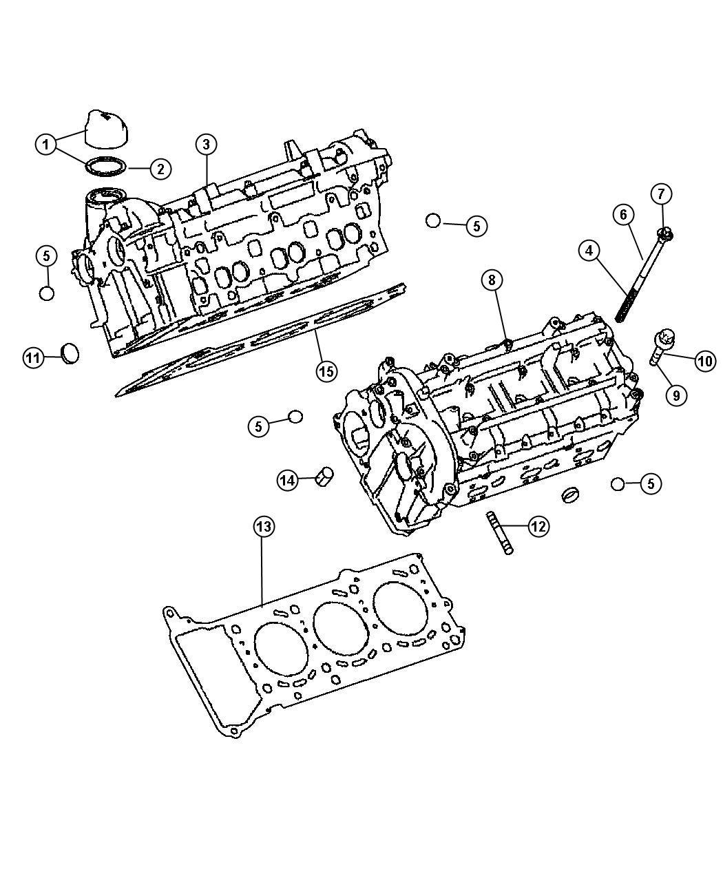 Dodge SPRINTER Cap. Oil filler. Right. Cylinder head cover