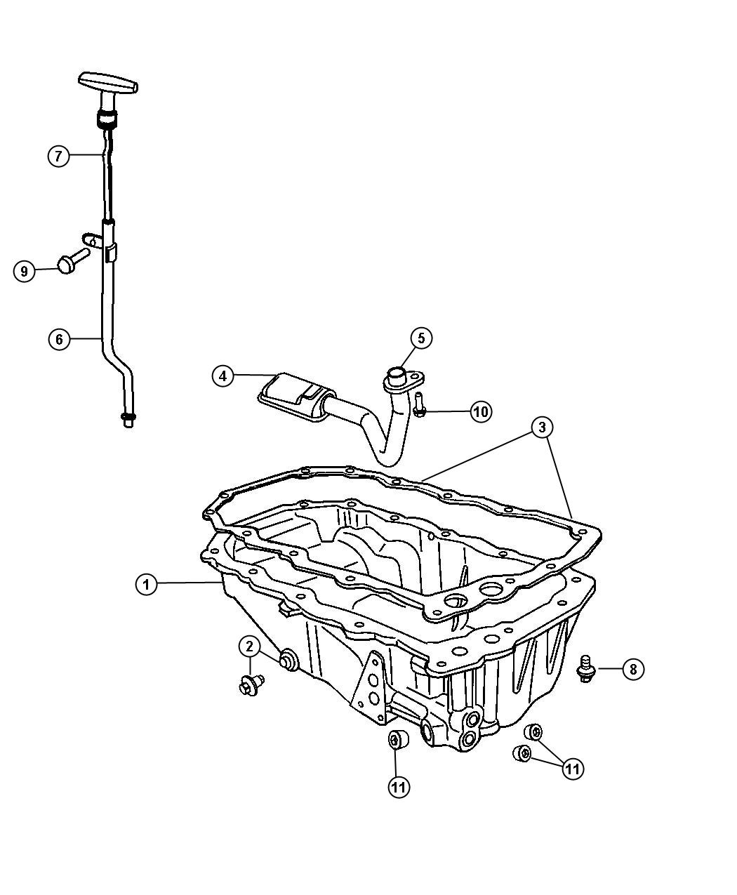 Dodge Viper Srt10 Coupe 8 4l V10 Plug Oil Drain