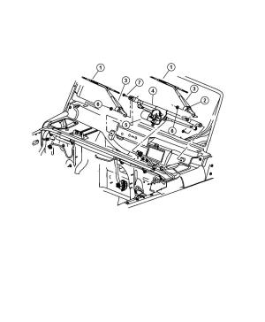 55077859AD  Jeep Used for: MOTOR AND LINKAGE Windshield