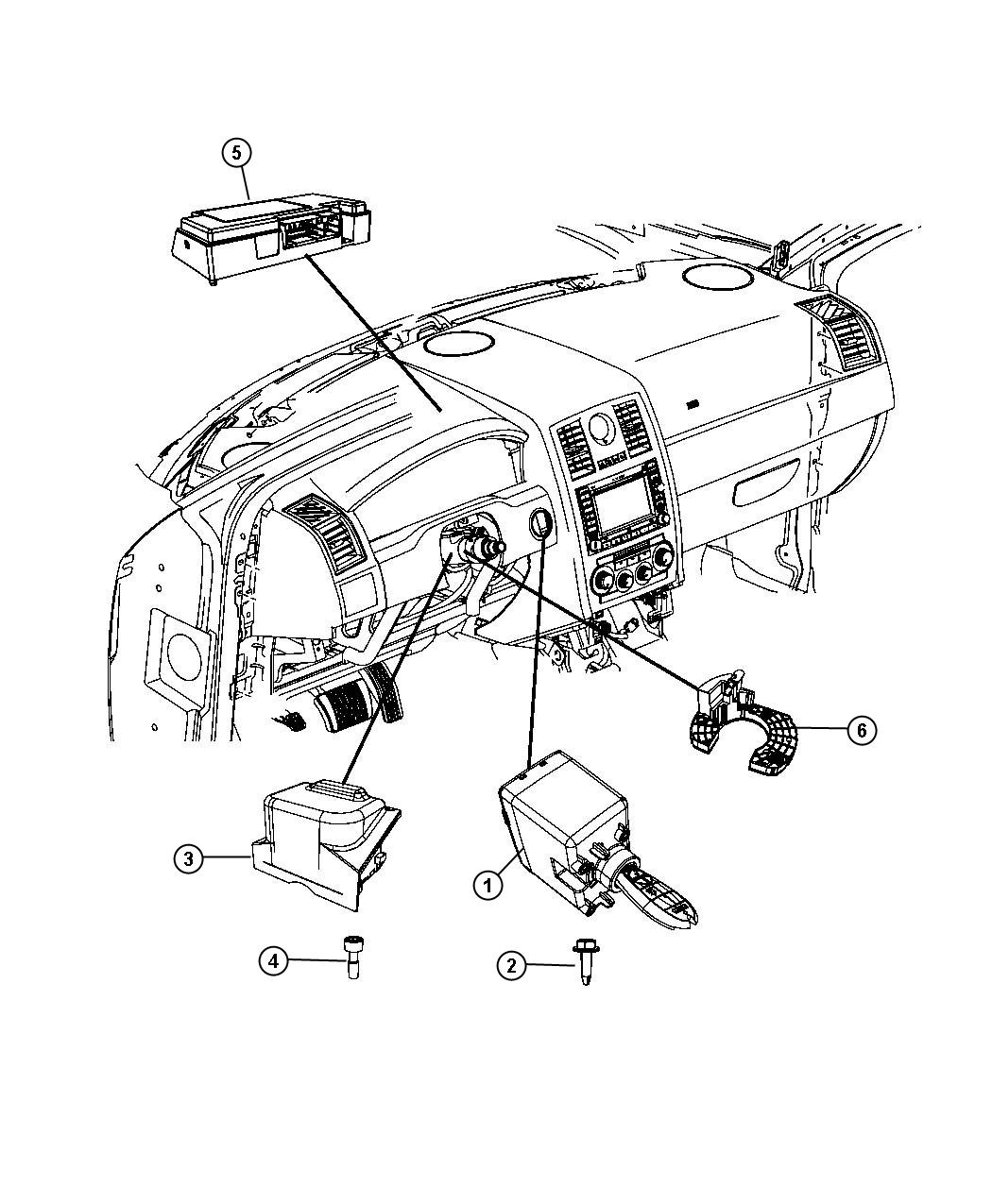 Dodge Challenger Module. Interface. [[tilt/telescope
