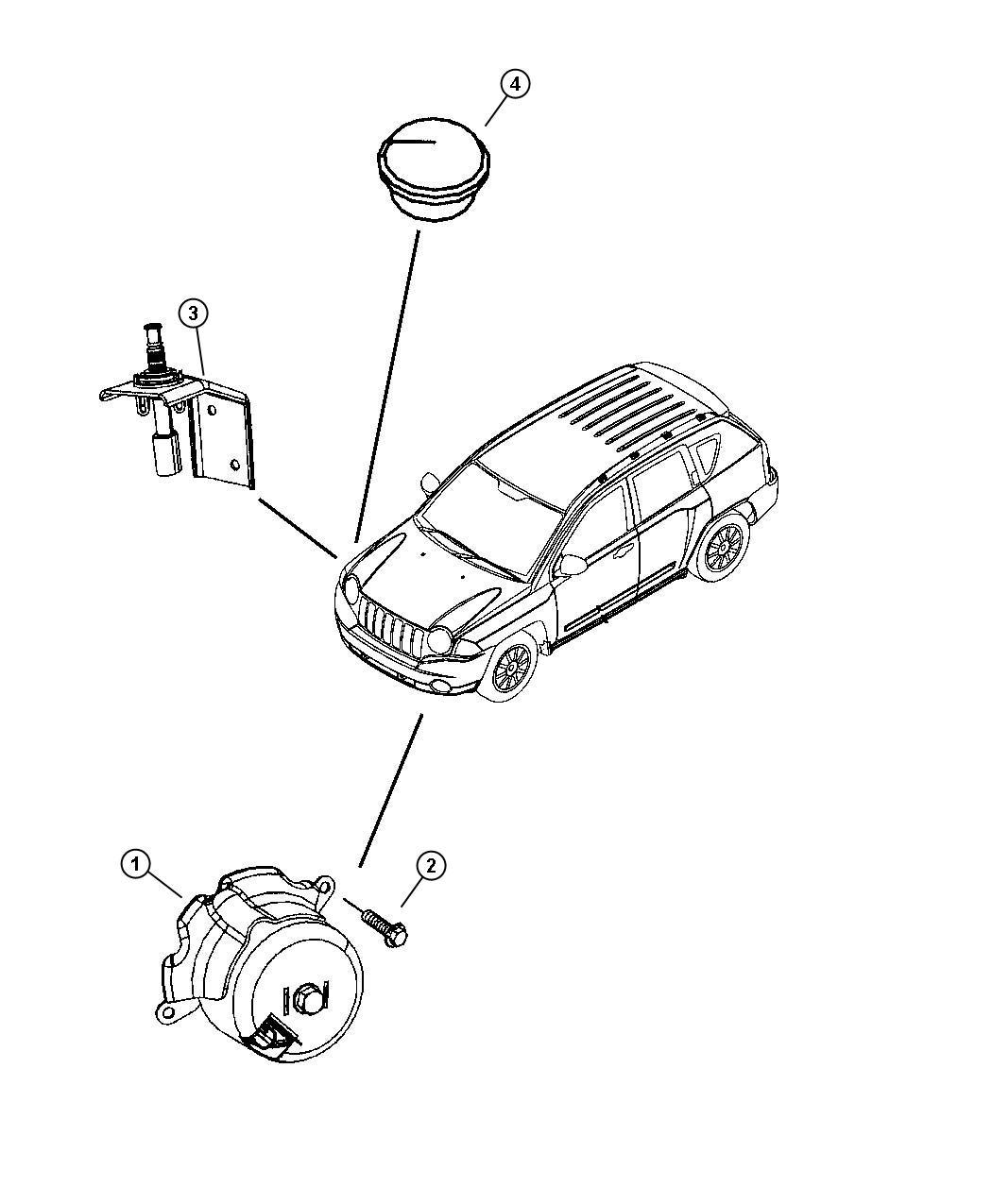 Dodge Caliber Siren Alarm Premium Security Alarm