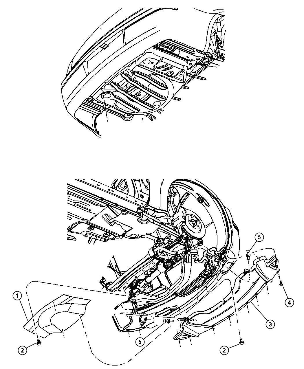 2010 Dodge Challenger R/T 5.7L Hemi V8 M/T Belly pan
