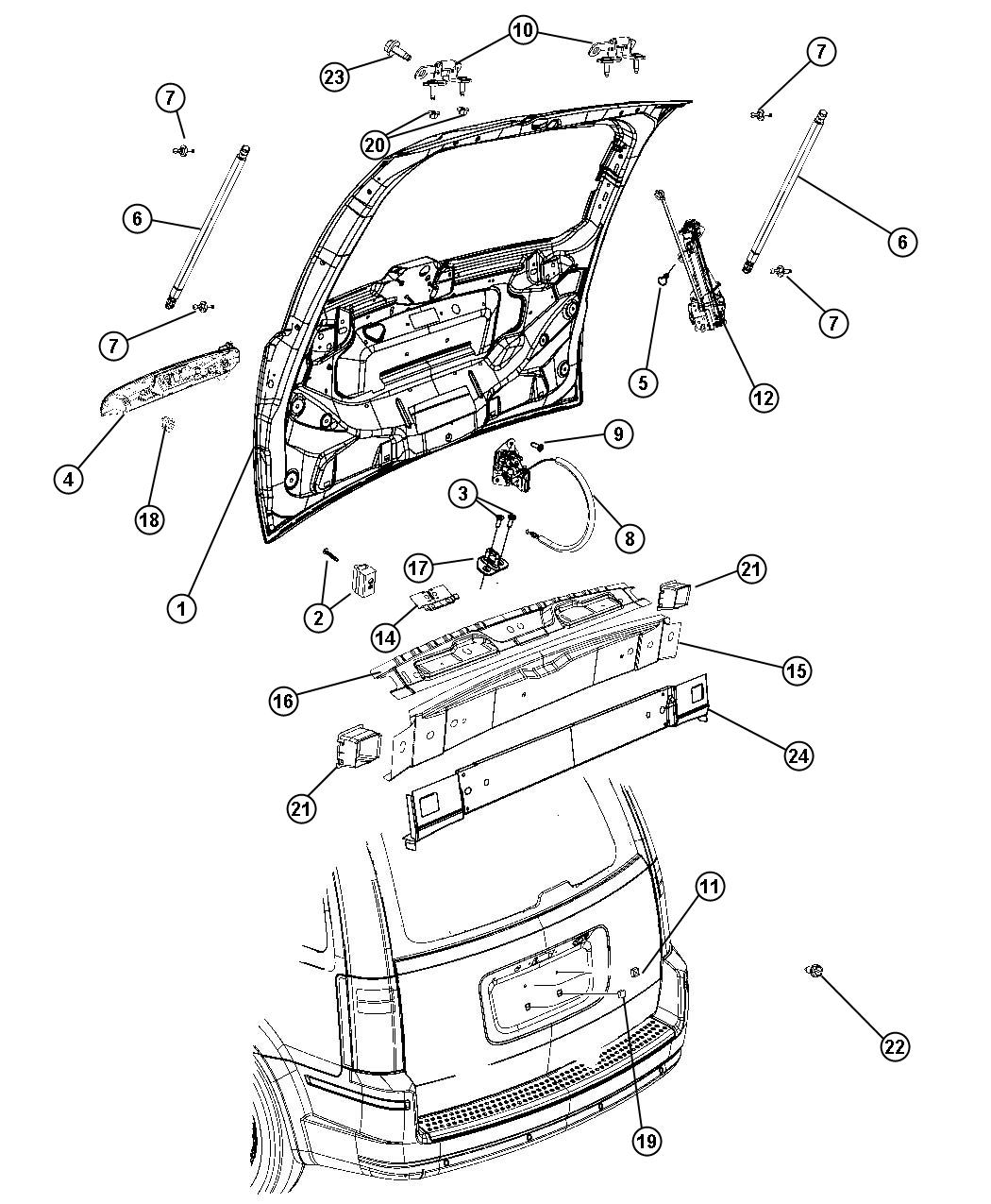 Chrysler Town Amp Country Liftgate