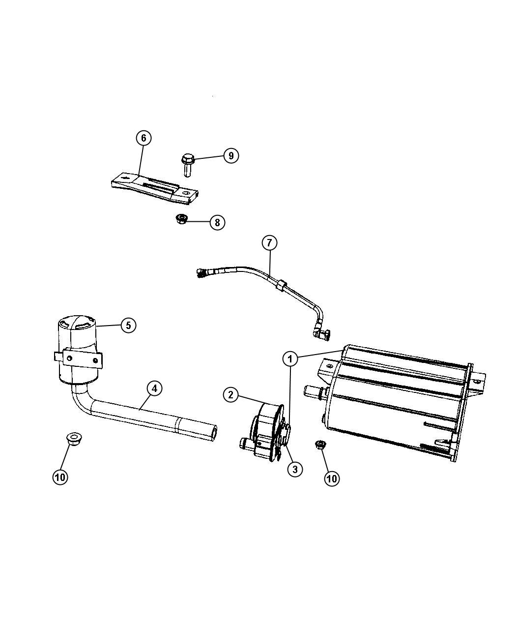 Dodge Journey Filter Leak Detection Pump