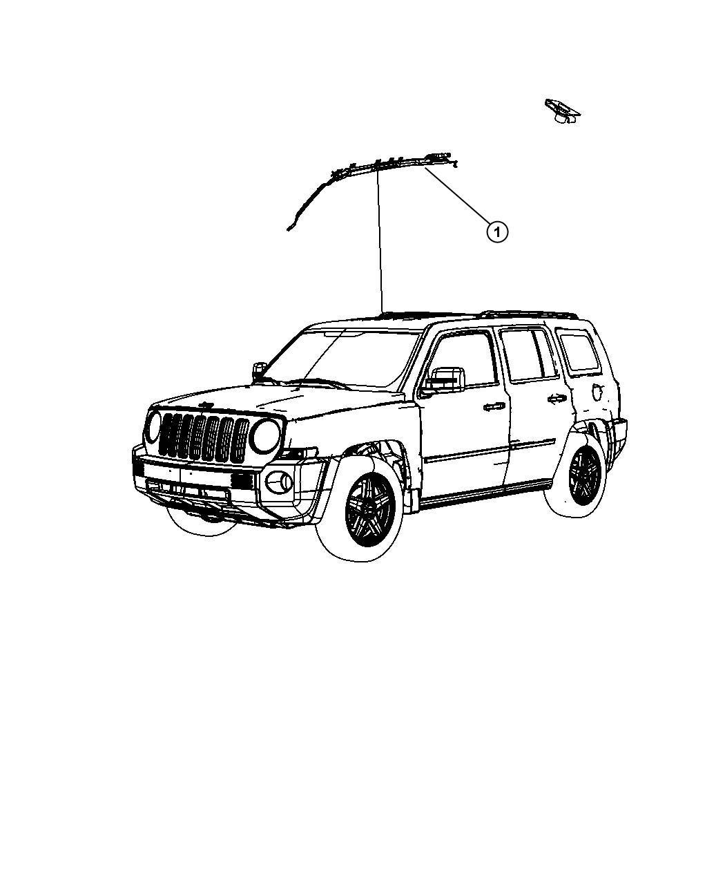 Jeep Liberty Nut M6x1 M6x1 00 Mounting Right Trim