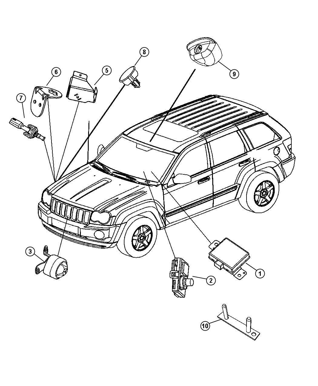 Dodge Caliber Screw. Hex head. M6x16x8.8. Mounting