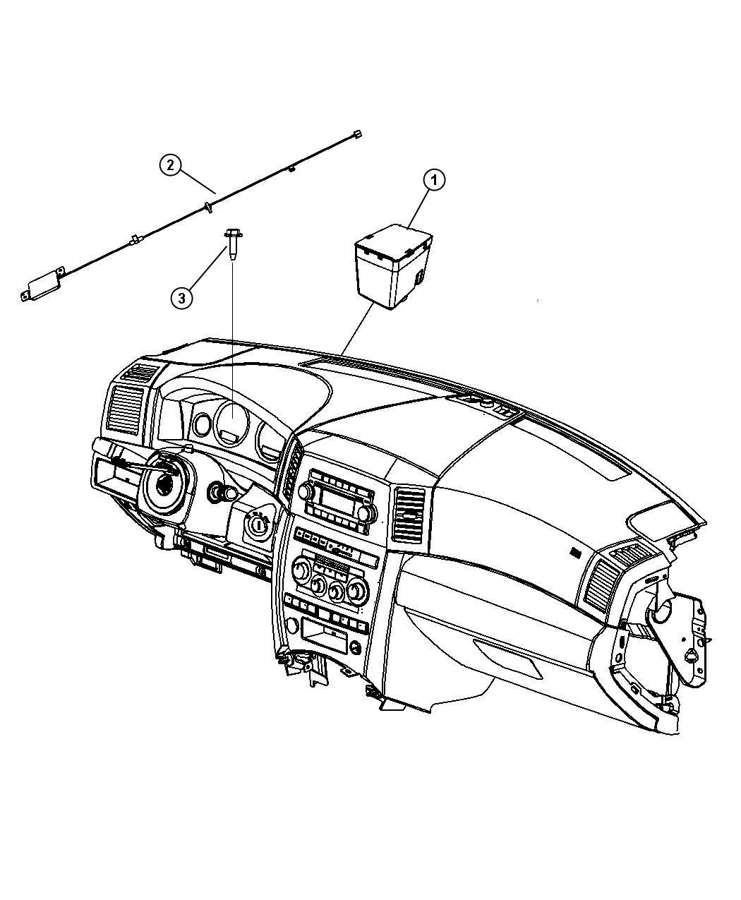 Chrysler 300 Receiver Export Wireless Ignition Node