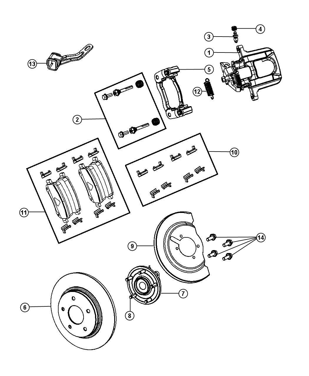 Dodge Used For Hub And Bearing Brake