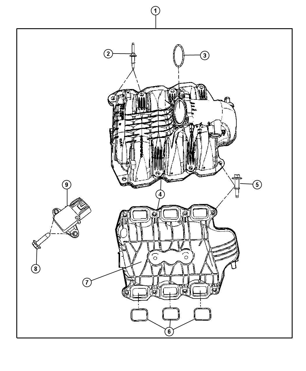 Service manual [2010 Jeep Liberty Intake Manifold Leak