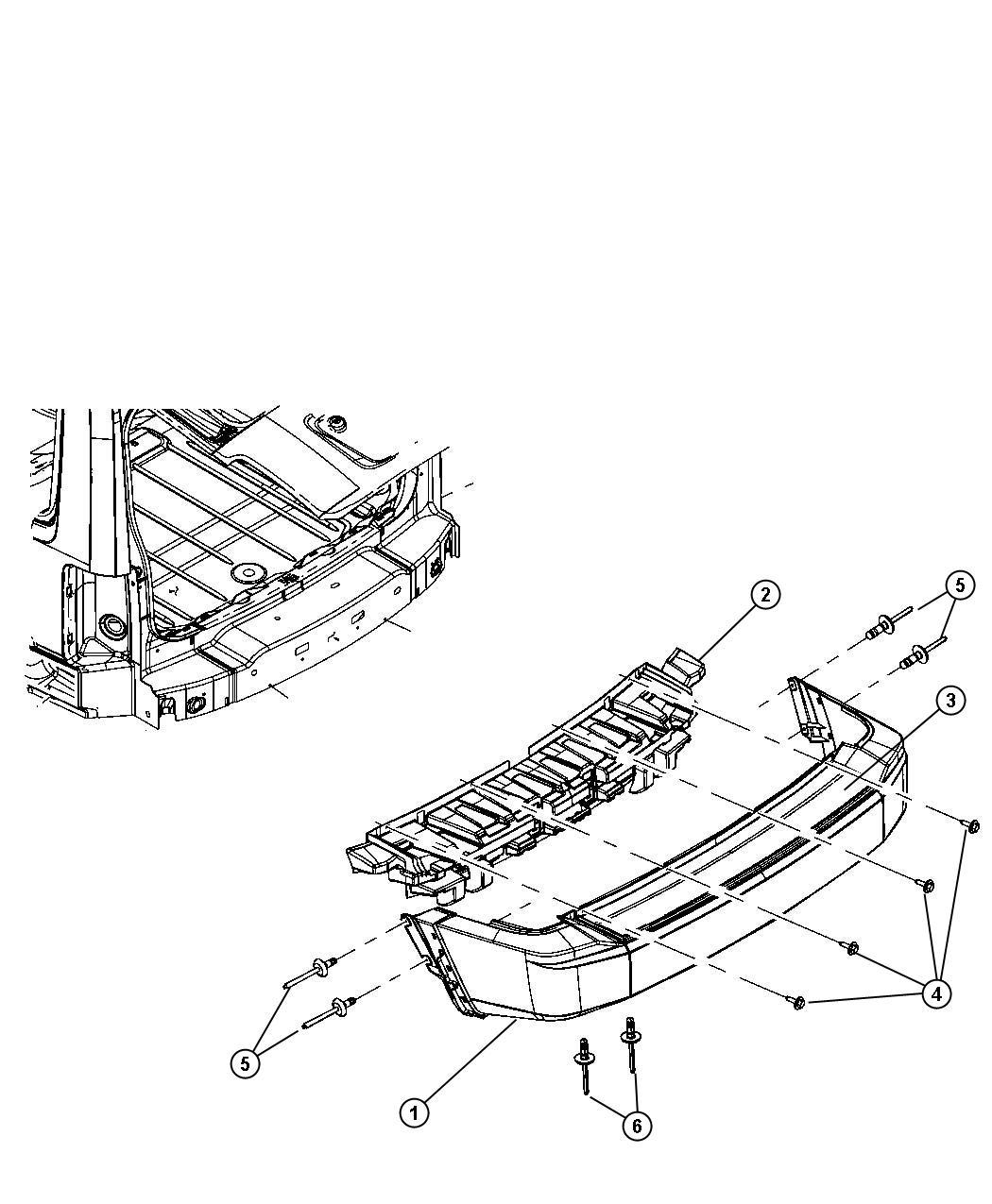 Jeep Liberty Absorber Rear Energy Fasciarear