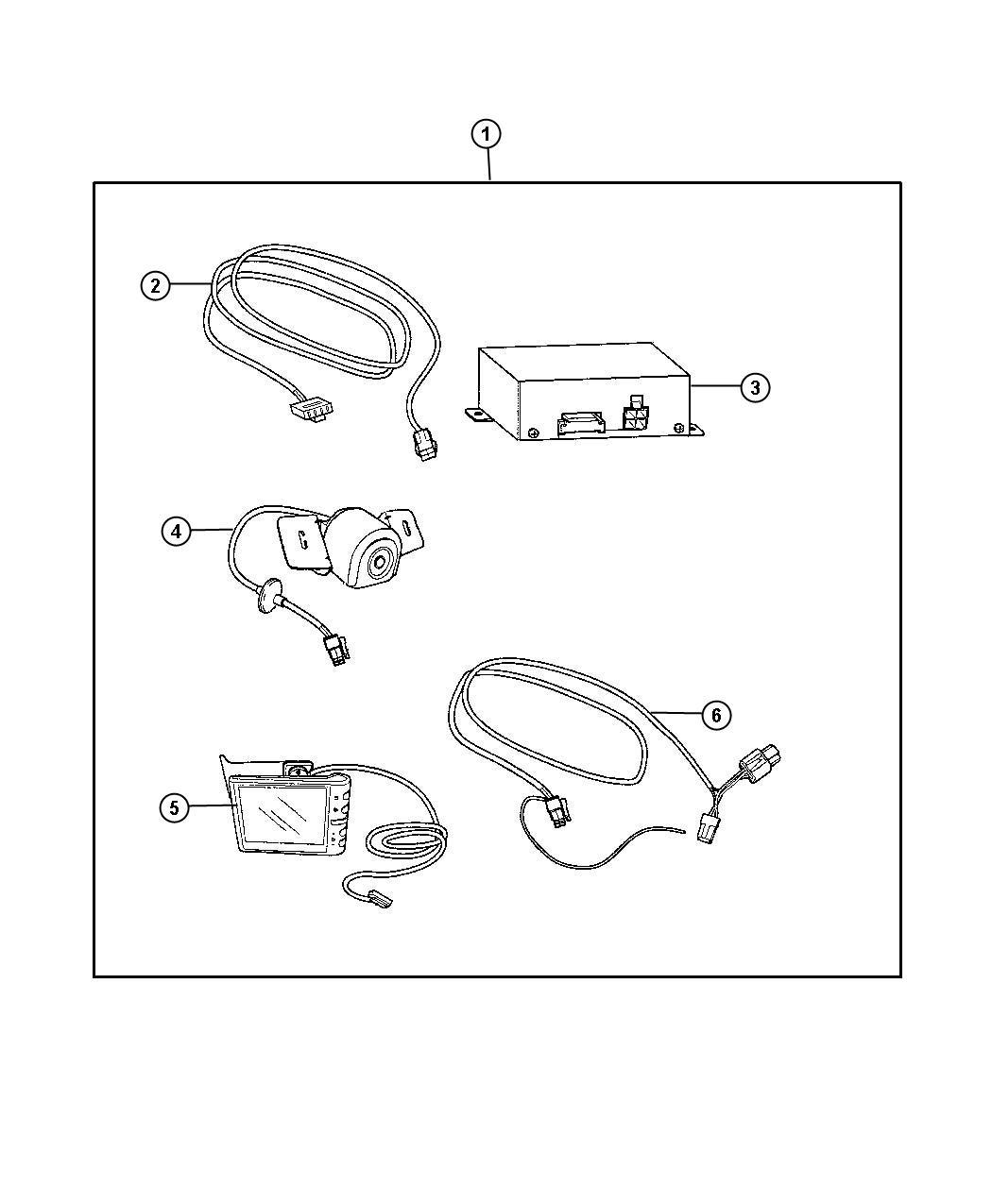 Dodge Journey Harness. Wiring. 82212350ad, 82212544ac