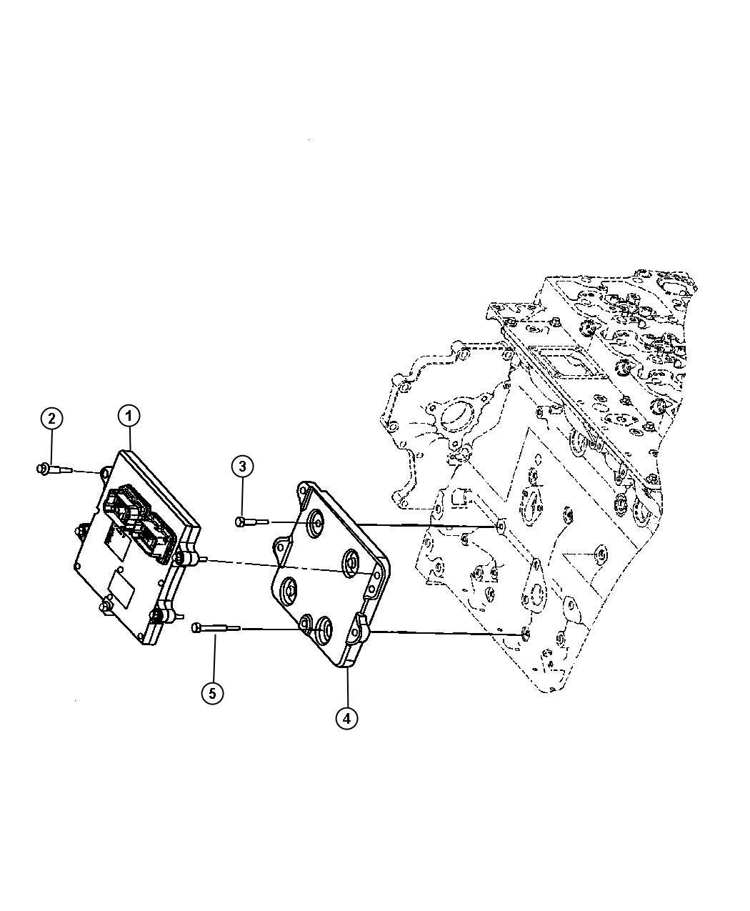 Dodge Ram 3500 Module. Engine controller. Coolerblackruby