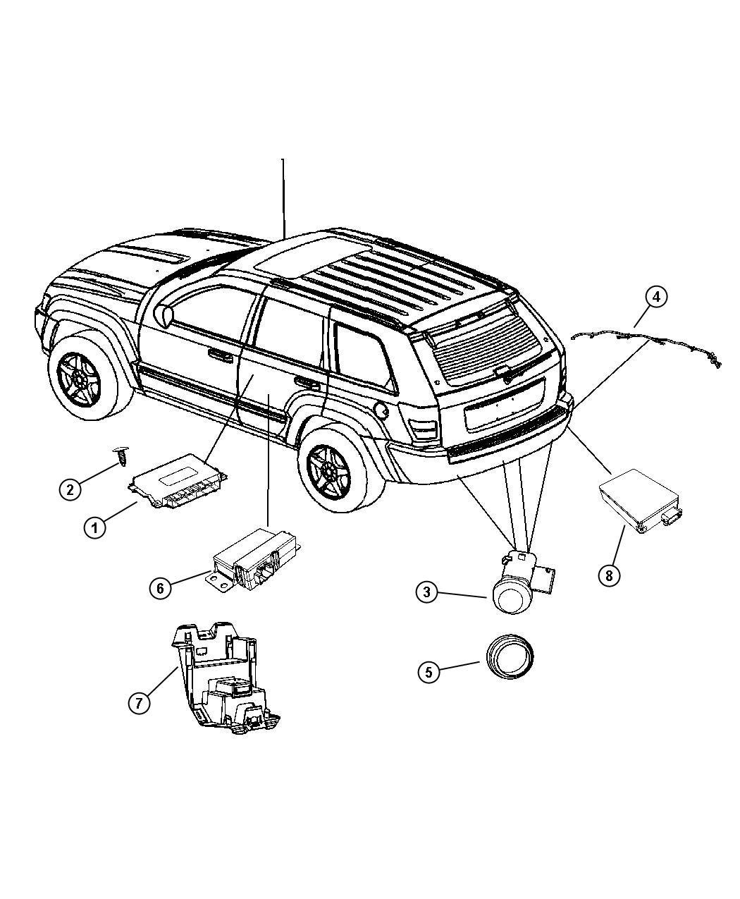 Jeep Grand Cherokee Headlight Wiring Harness