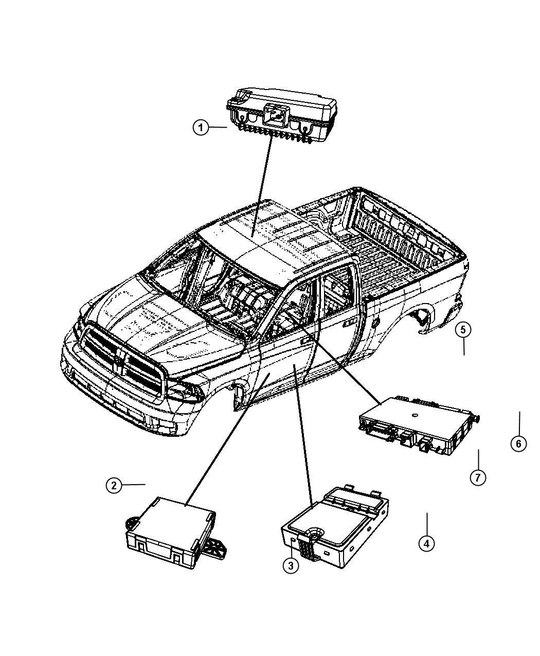 Ram Modulesel Exhaust Fluid Selective