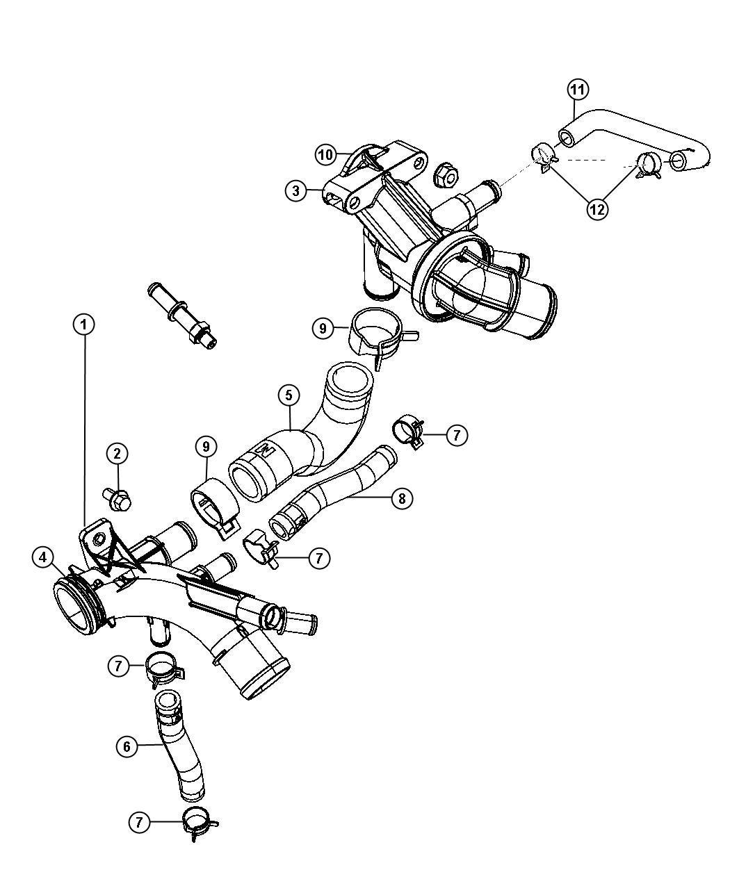 2007 Dodge Nitro O ring. Mounting. Drain plug, fits over
