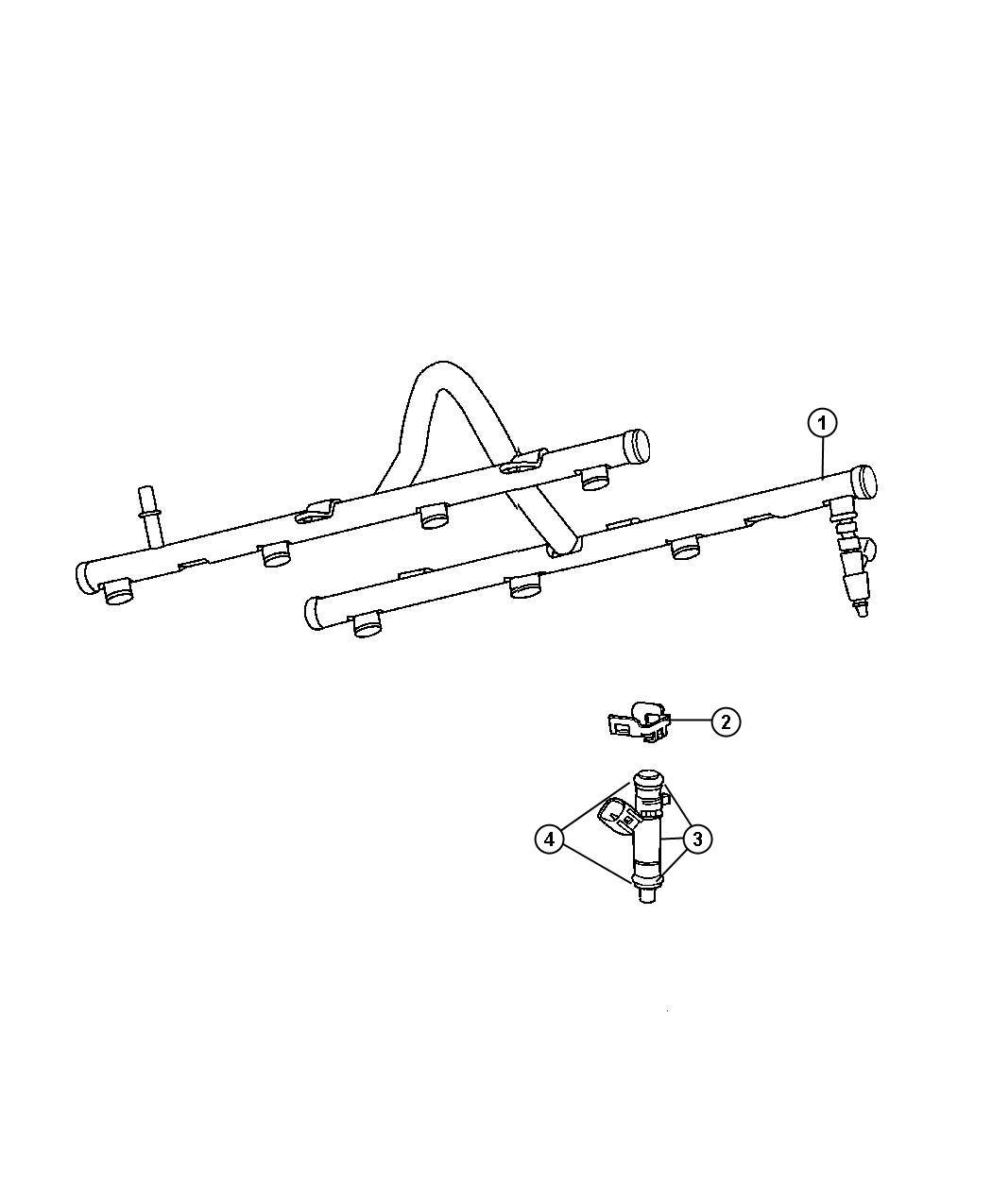Dodge Durango Injector Fuel Remanufactured