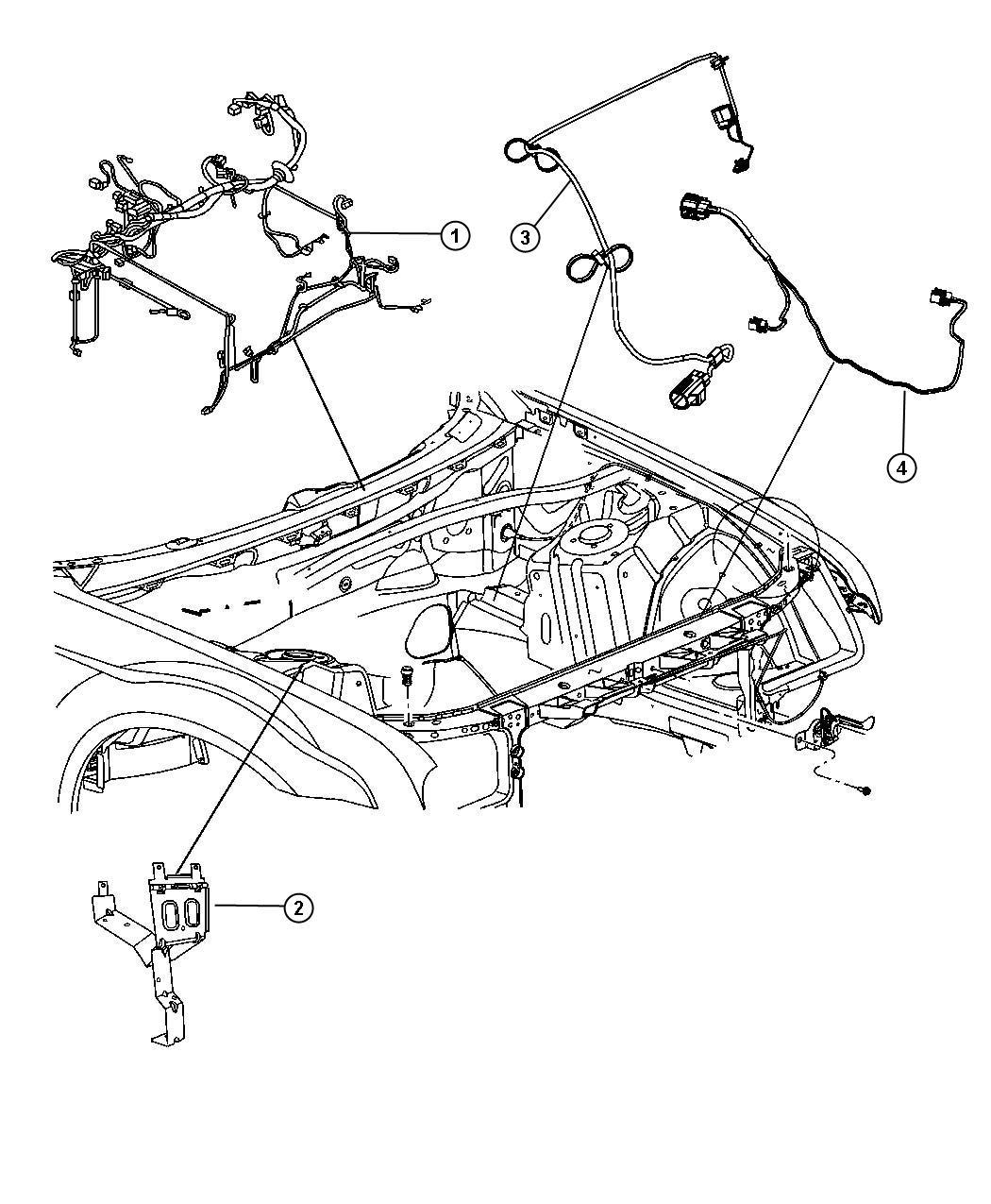 Dodge Charger Wiring Headlamp To Dash Adaptive Speed