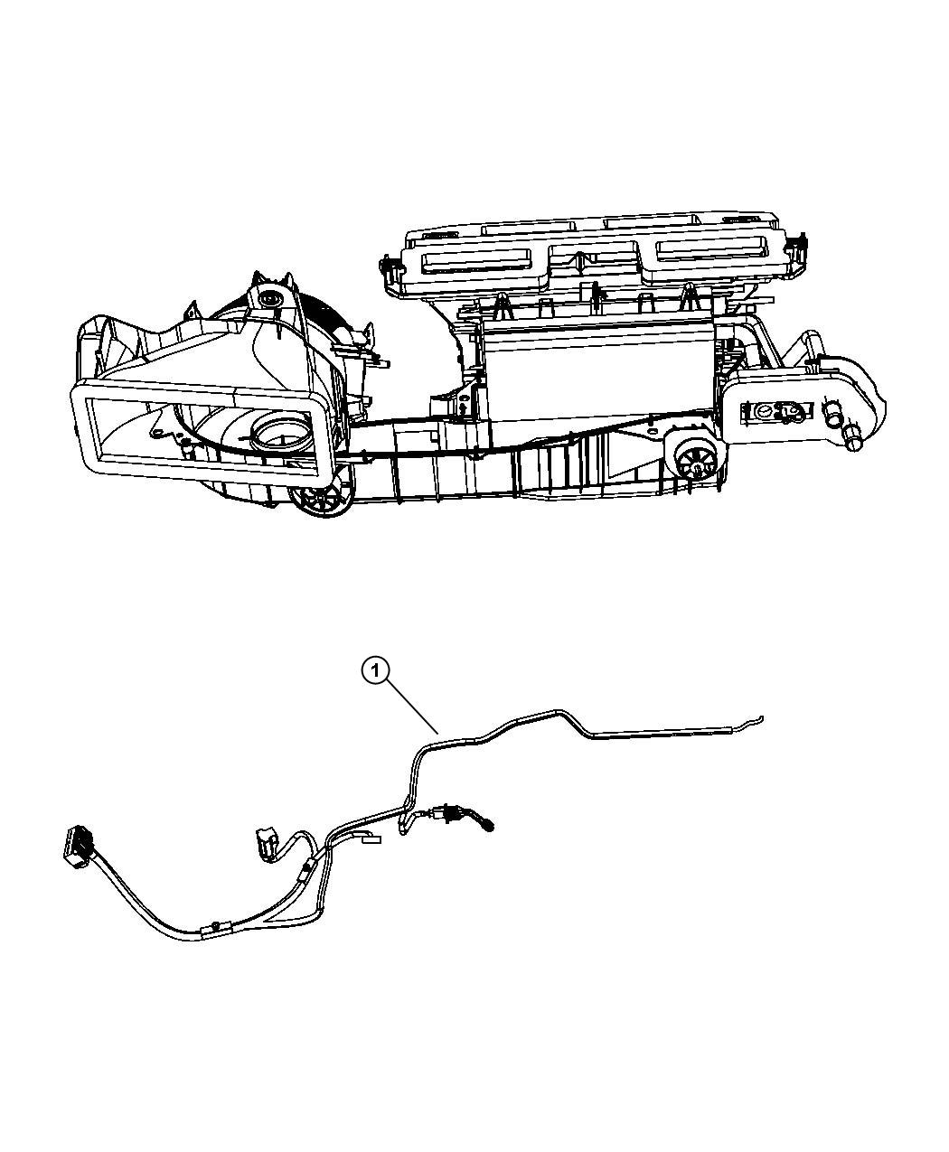 Chrysler 300 Wiring. Used for: a/c and heater. [air cond