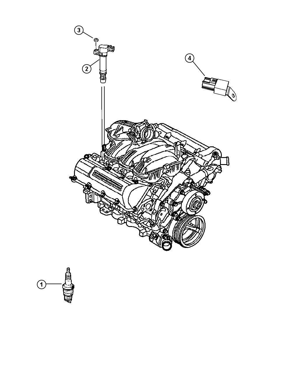 Dodge Grand Caravan Spark plug. Wires, capacitors
