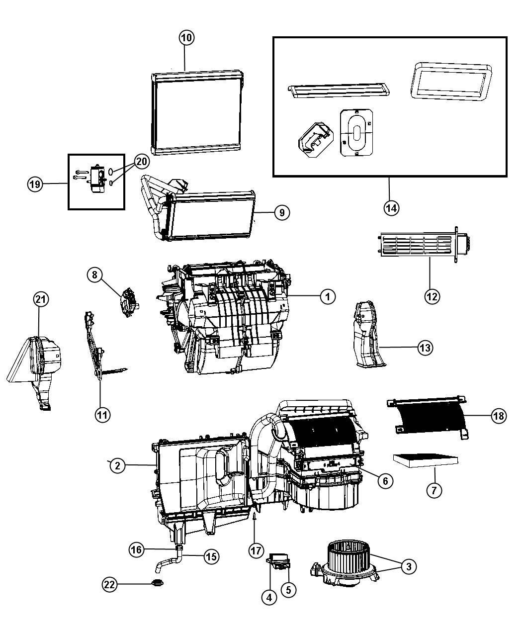 Dodge Grand Caravan Resistor Radiator Fan