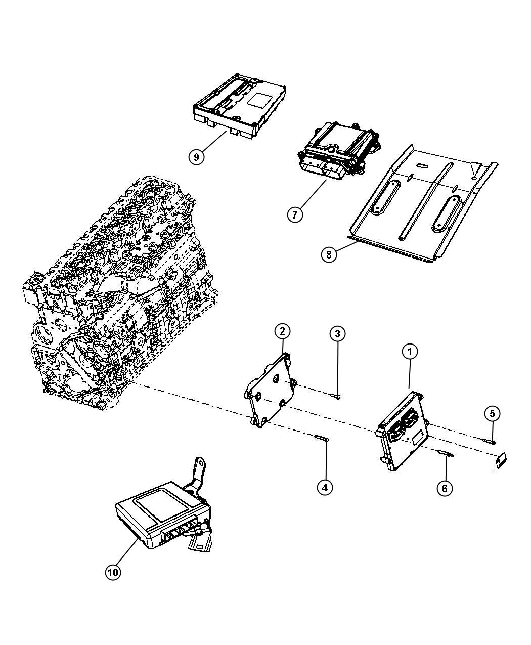 RAM 3500 Module. Diesel exhaust fluid. [selective