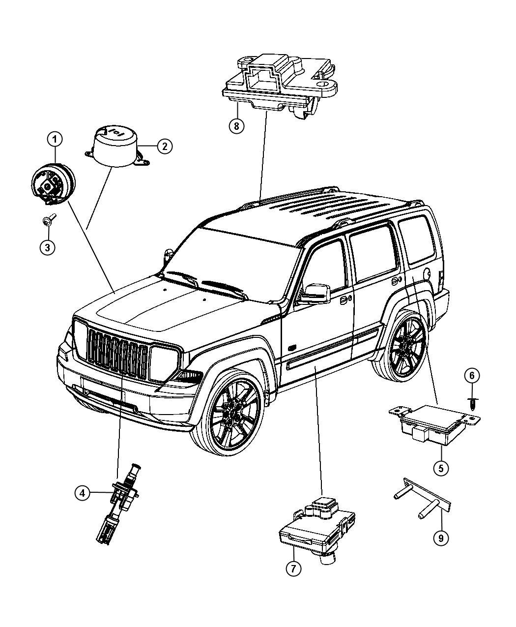 Service manual [2008 Jeep Liberty How To Disable Security