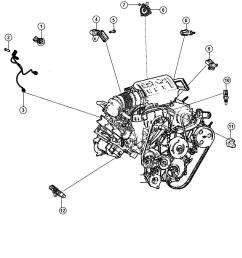 2007 jeep wrangler engine parts diagram [ 1050 x 1275 Pixel ]