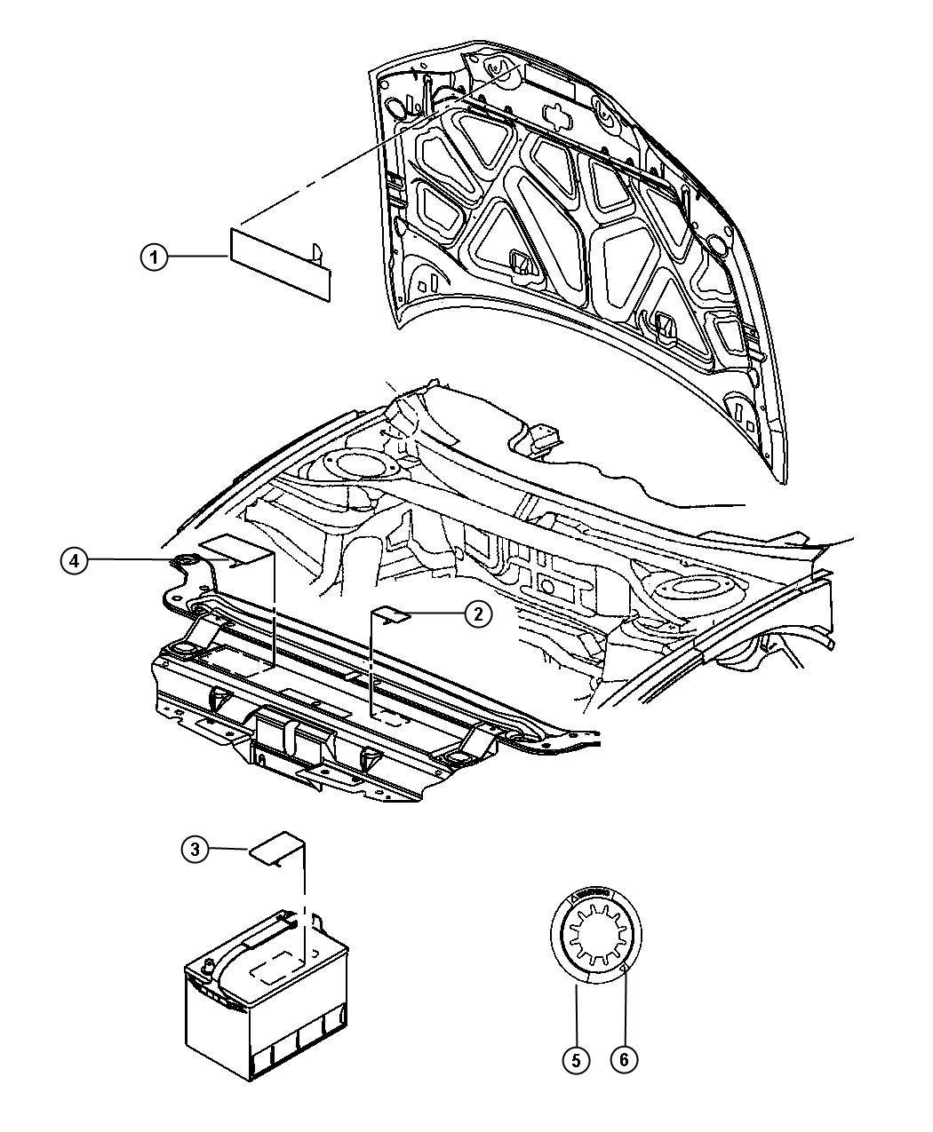 Dodge Challenger Label Veci Label 3 6l V6 Vvt Engine