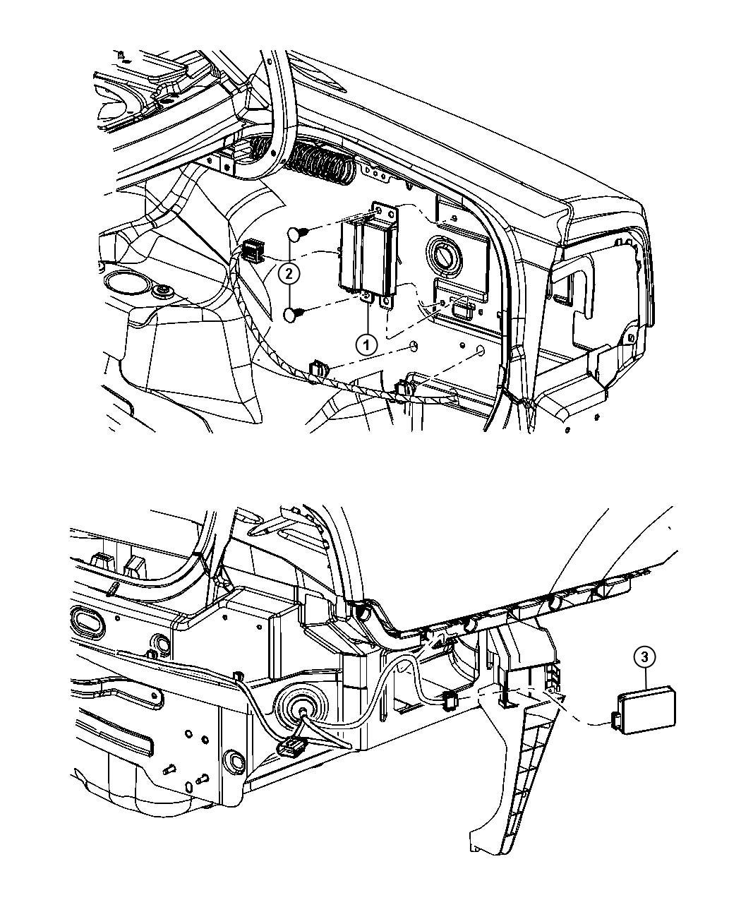 Dodge Charger Sensor. Blind spot detection