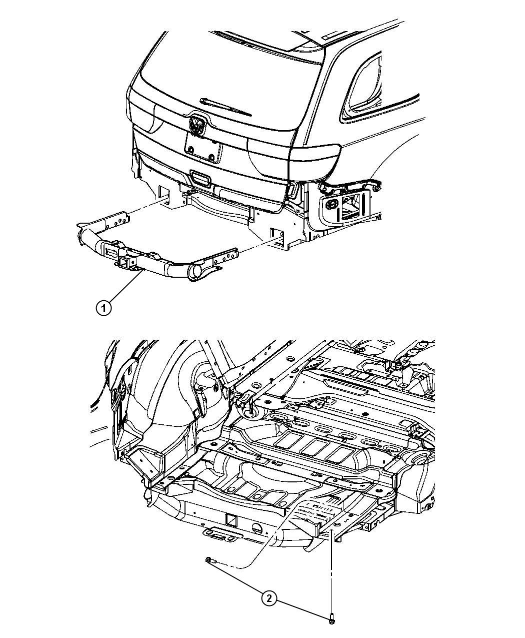 2020 Jeep Grand Cherokee Hitch. Trailer. [class iv