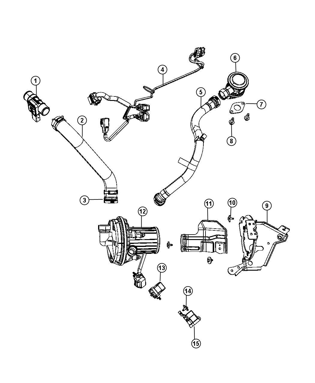 Chrysler Sebring Wiring Jumper Air Pump